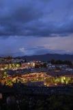 Escena de la noche de Lijiang Fotografía de archivo libre de regalías