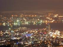 Escena de la noche de Penang, Malasia Foto de archivo