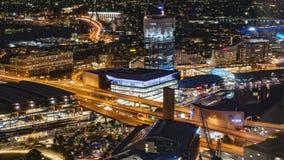 Escena de la noche de Sydney foto de archivo