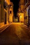 Escena de la noche en La Habana Imágenes de archivo libres de regalías