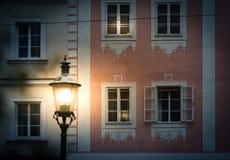Escena de la noche en Viena, Austria, Europa Imagen de archivo libre de regalías