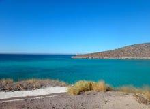 Escena de La Paz, Baja California Sur, México imagenes de archivo
