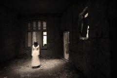 Escena de la película de terror Foto de archivo libre de regalías