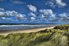 Escena de la playa Imagen de archivo libre de regalías