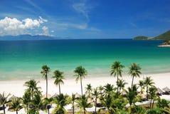 Escena de la playa Foto de archivo