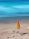 Escena de la playa Fotos de archivo