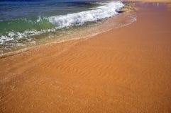 Escena de la playa de Portugal Imagen de archivo libre de regalías