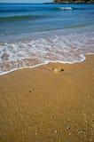 Escena de la playa de Portugal Fotografía de archivo libre de regalías