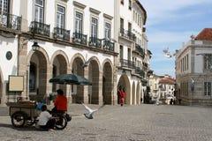 Escena de la plaza Imagen de archivo libre de regalías