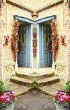 Escena de la puerta de la casa Imagen de archivo