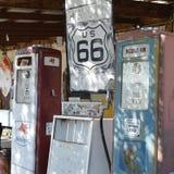 Escena de la ruta 66 del vintage Fotografía de archivo