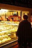 Escena de la tienda de la panadería Imagen de archivo libre de regalías