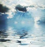 Escena de la tormenta Imagen de archivo