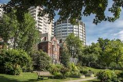 Escena de la universidad de McGill Imagenes de archivo