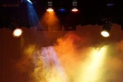 Escena de las luces Fotos de archivo