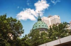 Escena de Montreal Fotografía de archivo libre de regalías