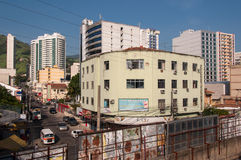 Escena de Nova Iguacu City Center Urban Imágenes de archivo libres de regalías