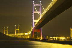 Escena de oro de la noche Imagen de archivo
