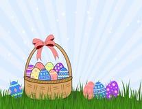 Escena de Pascua Imagenes de archivo