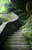 Escena de piedra de la escalera Imagenes de archivo