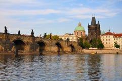 Escena de Praga Fotos de archivo