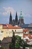 Escena de Praga Imagen de archivo