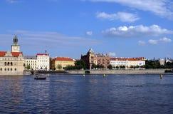 Escena de Praga Foto de archivo libre de regalías