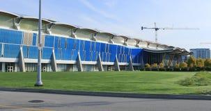 Escena de Richmond Olympic Oval en Columbia Británica, Canadá 4K metrajes