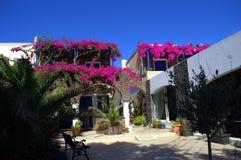 Escena de Santorini Fotos de archivo