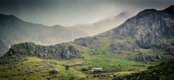 Escena de Snowdonia Fotos de archivo libres de regalías