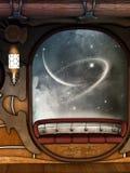 Escena de Steampunk stock de ilustración