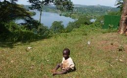 Escena de Uganda Imágenes de archivo libres de regalías