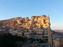 Escena de Urgup del cappadocia Imagen de archivo libre de regalías
