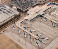 Escena del aeropuerto Fotografía de archivo libre de regalías