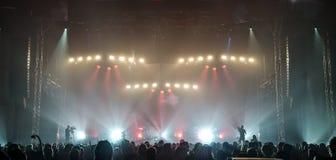 Escena del concierto fotografía de archivo libre de regalías