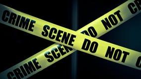 Escena del crimen Fotografía de archivo libre de regalías