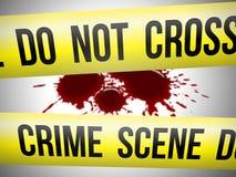 Escena del crimen 3 Imagen de archivo