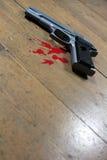 Escena del crimen. imagen de archivo libre de regalías
