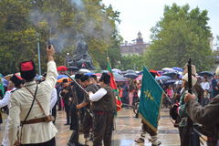 Escena del día de la celebración de Plovdiv Fotografía de archivo