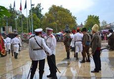 Escena del día de la unificación de Plovdiv Imagen de archivo