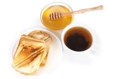 Escena del desayuno Imagen de archivo libre de regalías