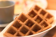 Escena del desayuno Imágenes de archivo libres de regalías