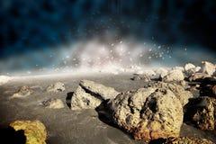 Escena del espacio exterior Foto de archivo libre de regalías