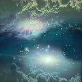 Escena del espacio profundo Fotografía de archivo libre de regalías