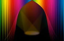 Escena del espectro Imagen de archivo libre de regalías