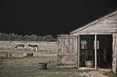 Escena del granero Imagenes de archivo