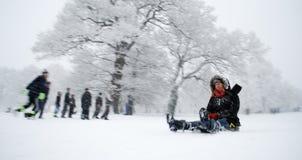 Escena del invierno Fotografía de archivo libre de regalías