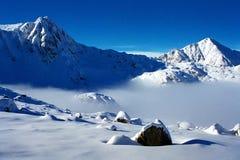 Escena del invierno Imágenes de archivo libres de regalías