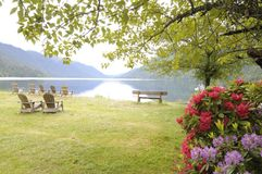 Escena del lago Imágenes de archivo libres de regalías