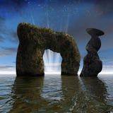 Escena del mar Foto de archivo libre de regalías
